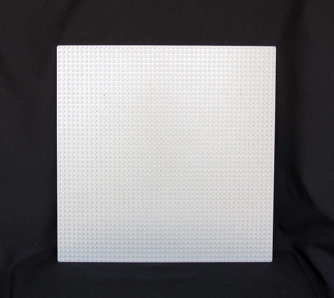 "Primary image for Lego Large Base Plate 48 x 48 Dots 15"" x 15"" Light Grey Baseplate"