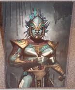 Mortal Kombat Kotal Kahn Glossy Art Print 11 x 17 In Hard Plastic Sleeve - $24.99