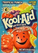 Kool-Aid Drink Mix Tropical Punch 10 count - $3.91