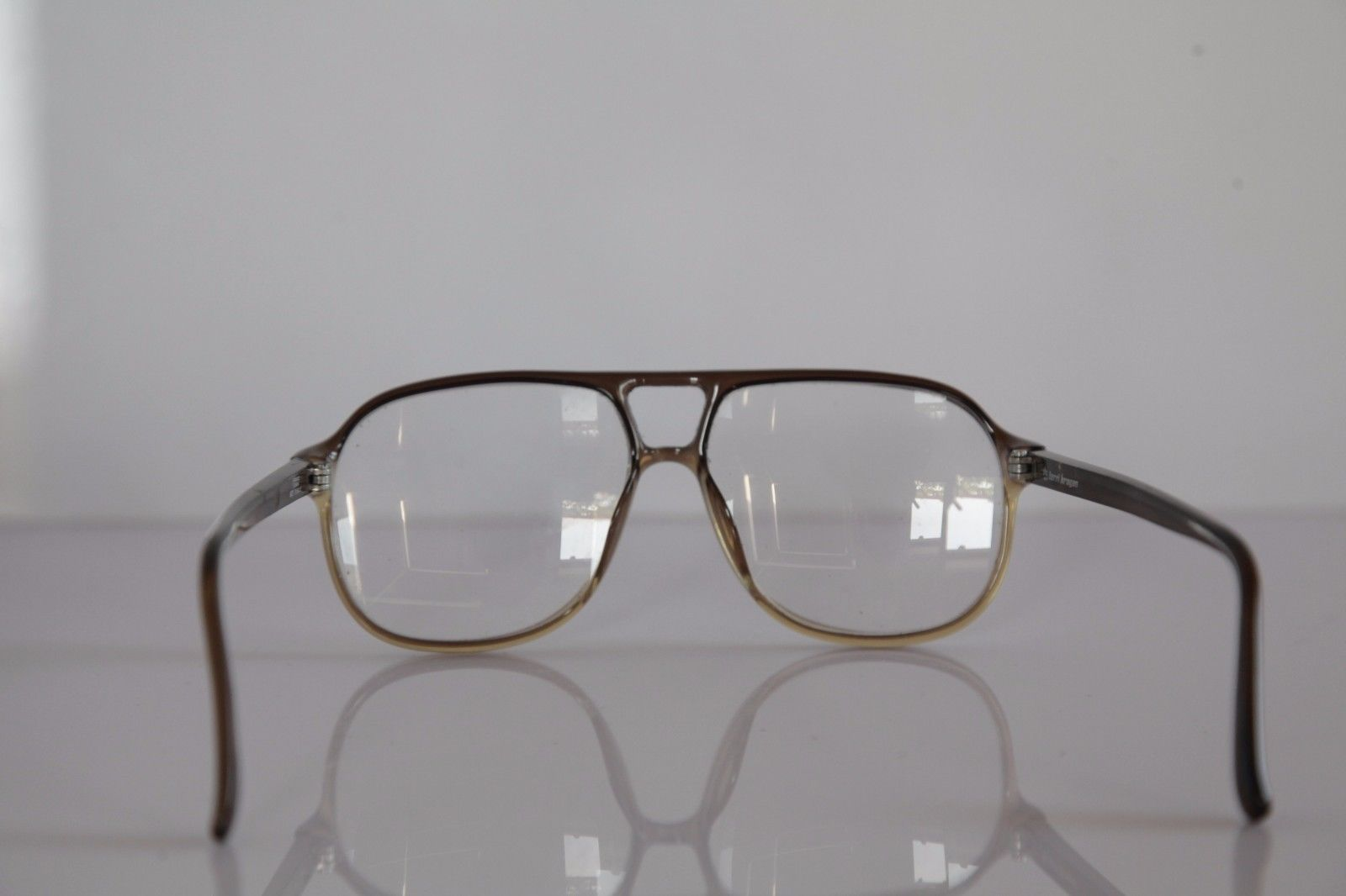 TERRI BROGAN Eyewear, Crystal Brown Frame,  RX-Able Prescription Lenses. Germany