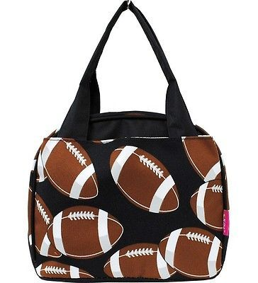 Insulated Lunch Bag (Football)