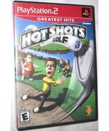 Hot Shots Golf 3 Greatest Hits Sony PlayStation 2, 2002 Action Free Ship... - $7.25