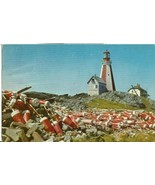 Canada, Yarmouth Lighthouse, Nova Scotia, 1959 used Postcard  - $5.99