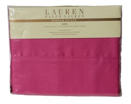 Ralph Lauren Dunham Hot Pink Sheet Set Twin - $68.00
