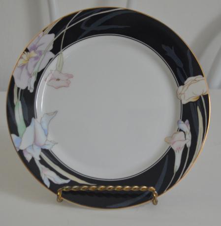 Mikasa Charisma Black China Salad Plate and 50 similar items