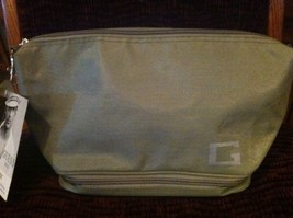 New Guess Man Light Green Cosmetic Pouch Travel Bag NWT! - $22.76
