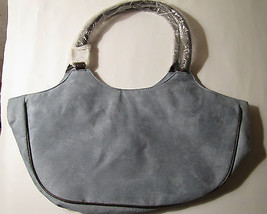 NEW ESTEE LAUDER BLUE & BROWN TOTE MAKE-UP/COSMETIC TOTE/PURSE BAG - $11.44