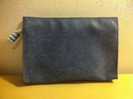 New Estee Lauder Blue Cosmetic Bag Pouch - $10.59