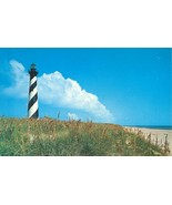 Cape Hatters Lighthouse, 1968 used Postcard - $7.99