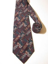ANDHURST NECK TIE. RED & GREEN striped Pattern. NWOT NEW. - $11.87