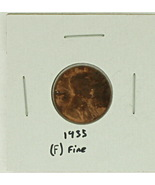 1935 United States Lincoln Wheat Penny Rating (F) Fine - $0.15