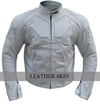 Oblivion Tom Cruise Men White Genuine Leather Jacket - $179.99