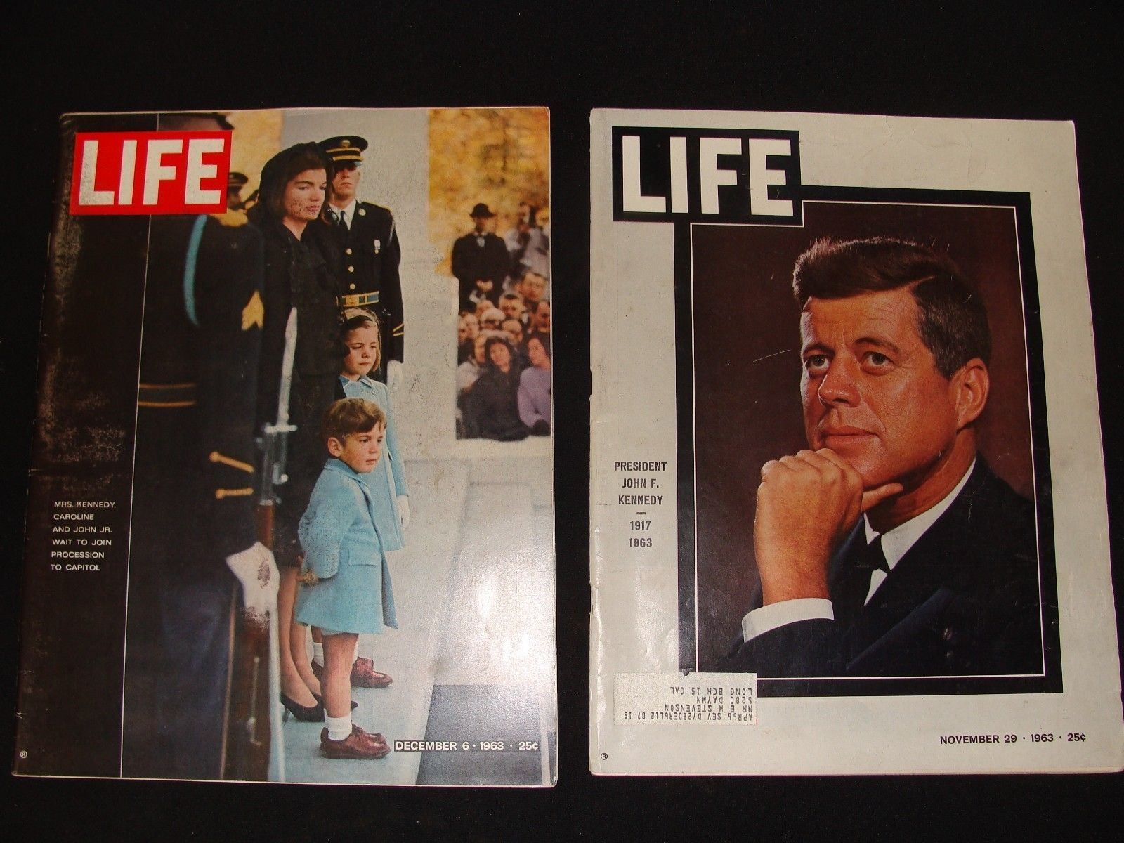 LIFE MAGAZINE NOVEMBER 29 TH 1963 JOHN KENNEDY