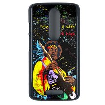 Jimi Hendrix Motorola Moto X3 case Customized premium plastic phone case... - $12.86