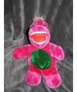Happiness Aid is a well made toy Stuffed Plush Purple Dinosaur Bootleg B... - $39.59