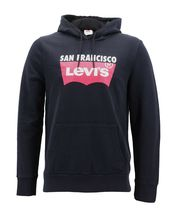 Levi's Men's Pullover Logo Graphic Hoodie San Francisco Red Tab Cotton Sweater image 5