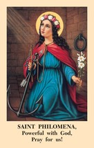 Saint Philomena Novena Prayercard (10 Packs of 100) - $69.95