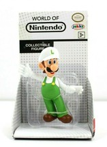 "Fire Luigi World of Nintendo 2.5"" Figure Jakks Pacific 2016 Super Mario NOS NEW - $16.40"