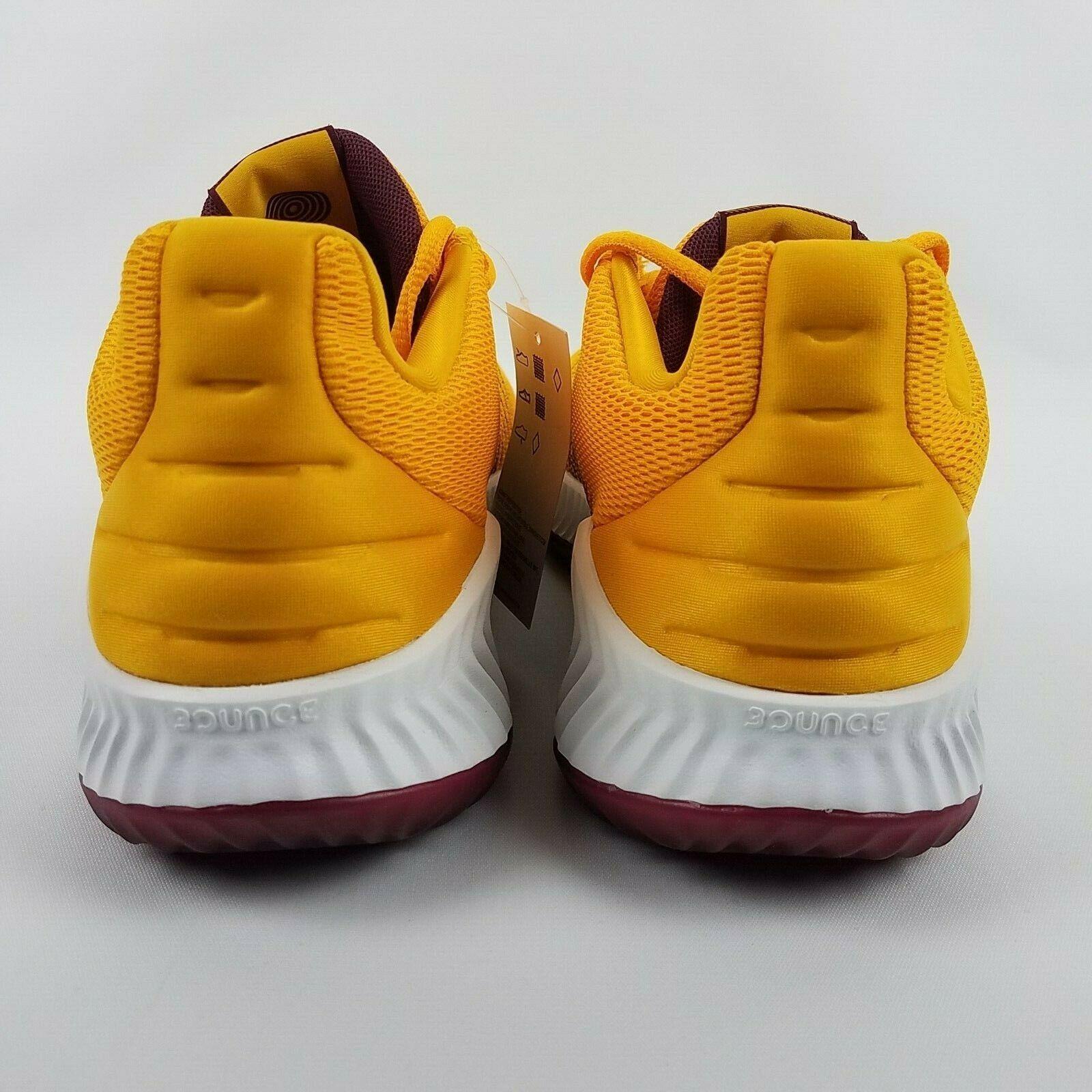 adidas Mens Pro Bounce 2018 Low ASU Basketball Shoe NCAA B41866 Size 9 image 7