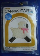 Leisure Arts 103 Lamb Plastic Canvas Capers Kit Dick Martin - $7.99