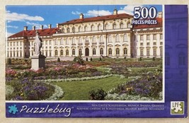 Puzzlebug New Castle Schleissheim 500 Pc. Puzzle New Sealed Free US Ship... - $9.90