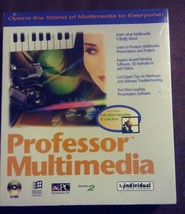 VTG Professor Multimedia 2.0 Software Windows CD-Rom Big Box 1994 Tutor ... - $14.94