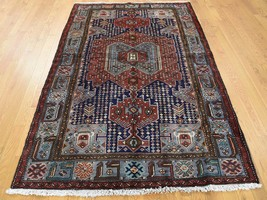 """4'6""""x6'10"""" HandKnotted New Persian Malayer Pure Wool Oriental Rug G40266 - $497.26"""