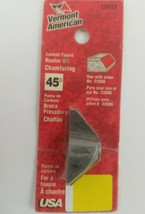 Vermont American 22633 Carbide Tipped 45° Chamfering Router Bit 22690  - $4.74