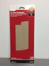 11 in. L x 4-1/2 in. W 150 Grit Fine Aluminum Oxide Sandpaper 5 1007624 - $3.94