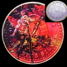 Ozzy Osbourne The Ultimate Sin Aztec Calendar Silver Ounce with 24k Gold... - $66.39