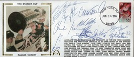 1994 NEW YORK RANGERS Autographed Gateway Cachet -Stanley Cup Champs11 s... - $741.51
