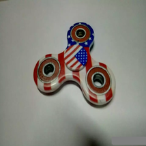 USA American Flag Fidget Spinner EDC Torqbar Toys - 1x w/Random Color and Design image 4