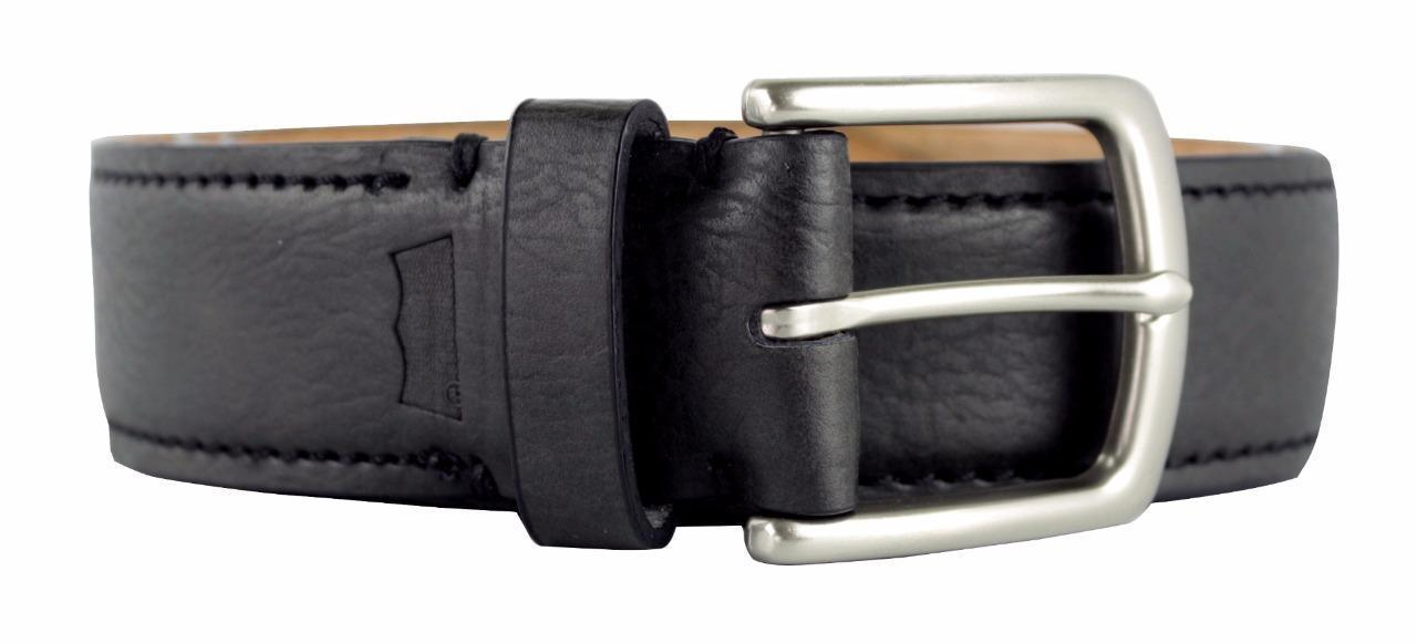 BRAND NEW LEVI'S MEN'S PREMIUM CLASSIC GENUINE LEATHER BELT BLACK 11LV02US