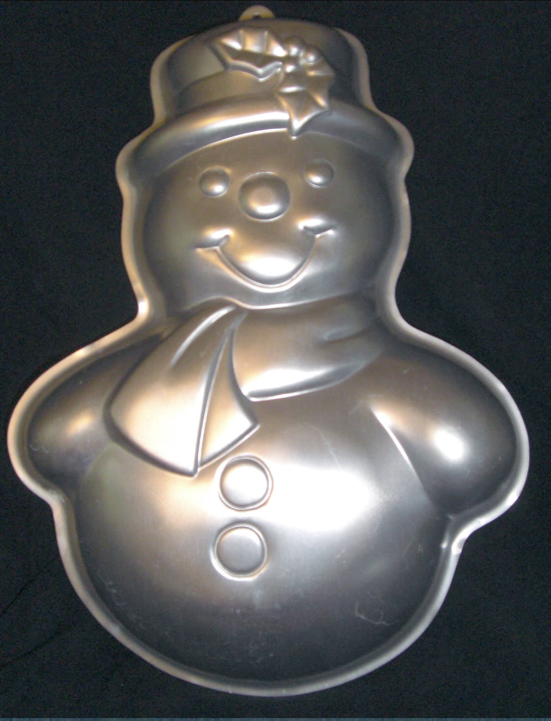 Primary image for Wilton Cake Pan SNOWMAN 2105-803 Preowned 1989