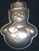 Wilton Cake Pan SNOWMAN 2105-803 Preowned 1989 - $10.95
