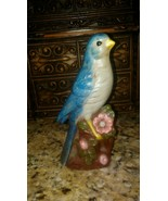 Vintage Ceramic's Class Blue Jay Bird From 1979 Professional Paint Job. - $12.86