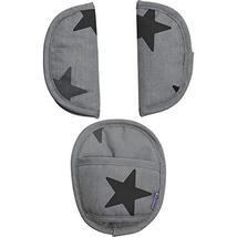 Dooky 3-Piece Strap Covers in Grey Stars