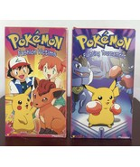 Pokemon Fighting Tournament And Fashion Victims VHS / Lot Of 2 - $9.50