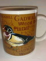 Collectible Field and Stream Advertising Coffee Mug Cup with Ducks - Tea... - $12.62