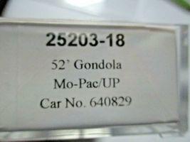 Trainworx Stock # 25203-13 to -18 Mo-Pac/UP Shield 52' Gondola N-Scale image 9