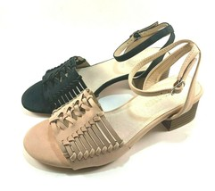 Restricted Hands Up Low Block Heel Sandals Choose Sz/Color - $64.00