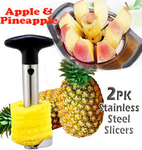Stainless Steel Pineapple Cutter and Stainless Steel Apple Corer - $28.99