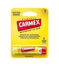 Carmex Classic Stick 4.25g Moisturizes Dry Lips - $5.49