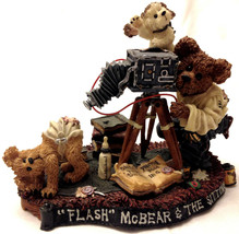 Boyds Bears  # 227721 Flash McBear and The Sitting  MIB  FIRST EDITION - $34.95
