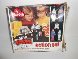 Vintage Kenner Star Wars The Empire Strikes Back Play Doh Action Set  BO... - $14.99