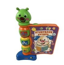 Fisher-Price Storybook Rhymes Interactive Lights & Songs - Numbers Letters - $13.76