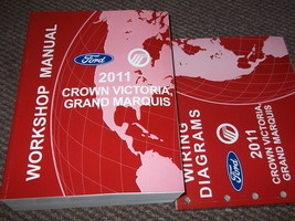 2011 ford crown victoria grand marquis service repair workshop manual set - $227.65
