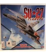 SU27 Flanker The Military Flight Simulator 1995 Computer Game New In Box! - $56.09
