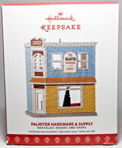 Hallmark: Palmiter Hardware & Supply Nostalgic Houses Series 34th 2017 Ornament - $30.68