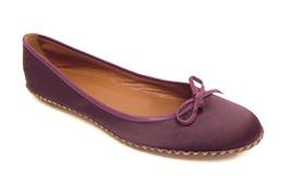 MARC JACOBS Size 7.5 Purple Satin Ballet Flats 38 Shoes 7 1/2 - $35.10
